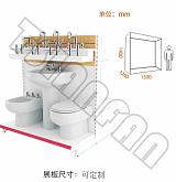 VM005-A马桶展示架;
