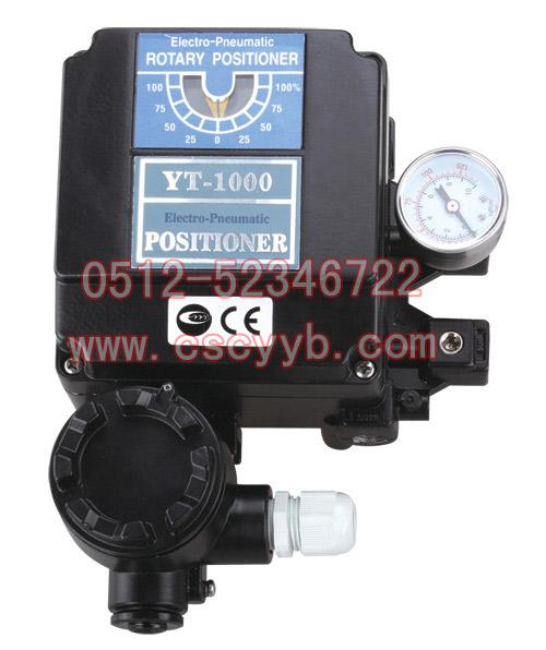 YT-1000L电气阀门定位器,YT-1000R电气阀门定位器