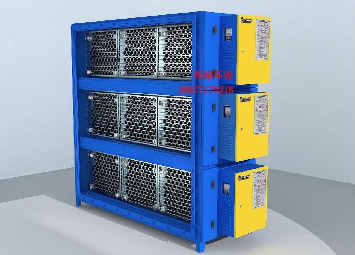 厂家直销圆筒蜂窝低空型工业废气净化处理油烟净化器