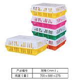 鸡用周转箱/运输鸡笼/鸡鸭鹅鸽兔运输笼筐