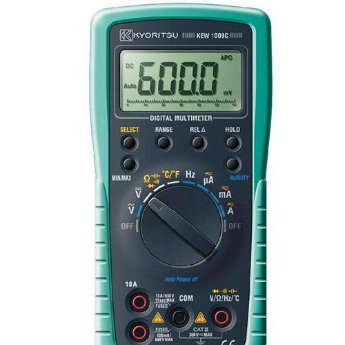 西安美氏米阳供应日本共立KEW 1009A数字式万用表;