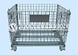 有为仓储常规仓储笼A-1坚固经久耐用,堆高稳固,开关方便,可折叠;