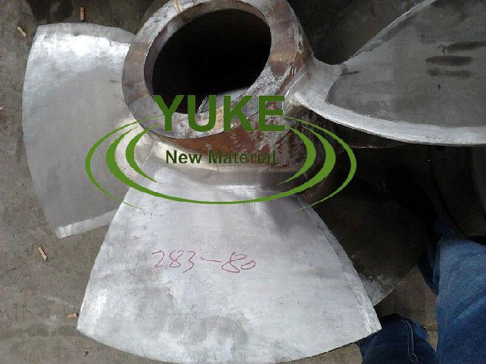 水轮机叶片修复