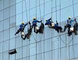 西安瓷砖外墙玻璃幕墙蜘蛛人清洗公司