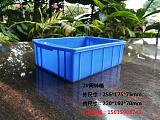 佛山乔丰塑胶厂家直销2#255*175*75周转箱 零件盒 元件盒;
