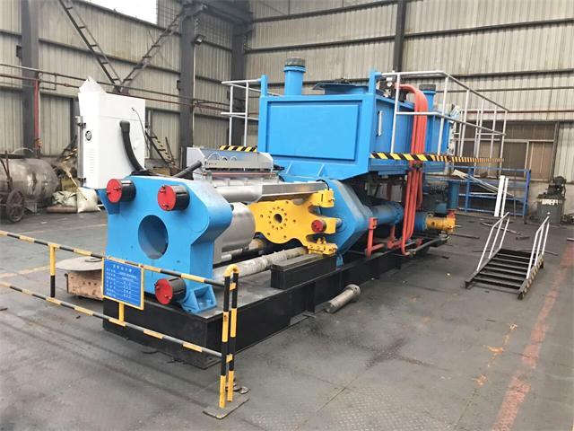 铝型材挤压机全自动单动卧式结构铝材挤压机挤压效率每秒12.65