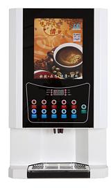 速溶咖啡机全自动商用热饮机饮料机四热四冷咖啡奶茶一体机;