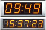 供应 数显子钟-子母钟 烟台星河电钟;