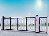 智能悬浮折叠门 别墅大门 厂区大门 庭院大门电动门;