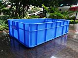 佛山乔丰塑胶厂家直销4#周转箱600*420*165物流箱 面包箱 收纳箱