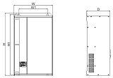 TS2600空压机变频驱动一体机;