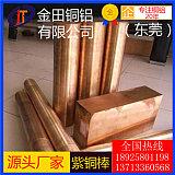 供應T2紫銅棒TP1紫銅棒、廣東T1紫銅棒紫銅管,C1100紅銅板價格;