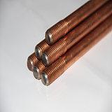 供应富沃德镀铜钢接地棒防雷接地材料,耐腐蚀,施工方便;