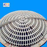 供应陶瓷球拱硫酸干燥塔吸收塔填料支撑结构按需定制耐酸陶瓷球拱