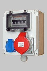 动力检修插座箱、IP65检修插座箱、防水防腐检修插座箱