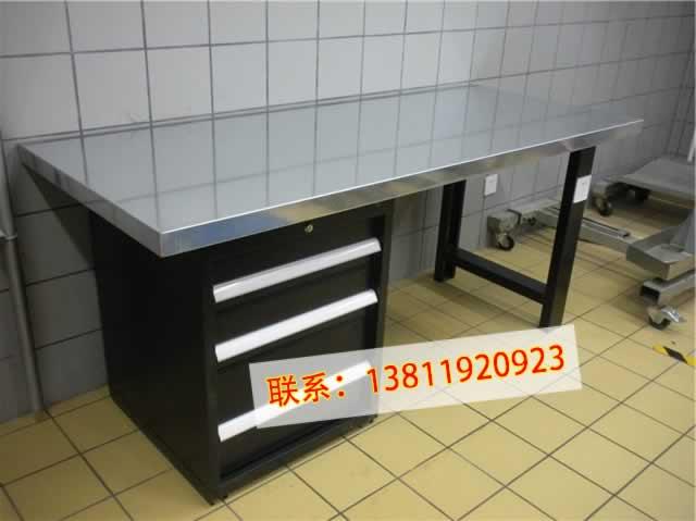 北京不锈钢工作台车间重型操作桌