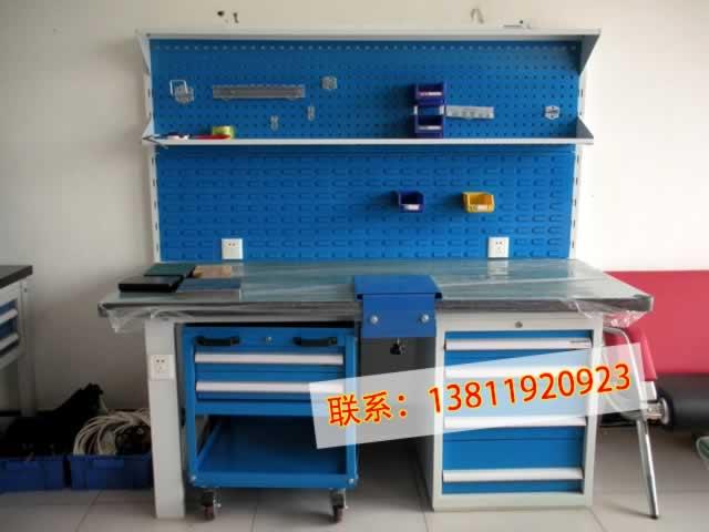 供应格诺重型置物板工作台钳工台