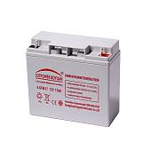 LOTPOWER BOYUAN蓄电池12V17AH 铜片端子;