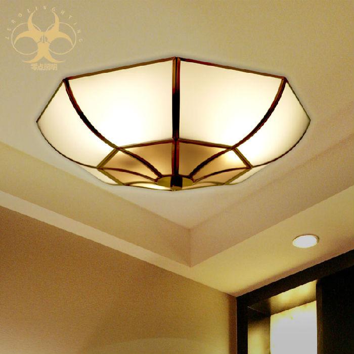 供应全铜灯欧式吸顶灯卧室餐厅书房阳台灯焊锡走廊LED灯具X6013