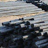 现货供应防腐油木杆-电力油杆各种型号齐全-加工定制;