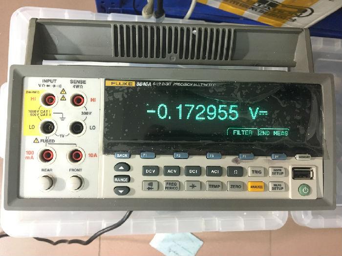 库存仪器回收 Fluke福禄克数字万用表F8845A/F8846A精密六位半台式