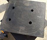 MZQZ系列幕墙专用球铰支座 天然橡胶隔震支座 天然橡胶支座;