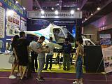 天天飞直升机飞行模拟器与各大航空科技馆合作;