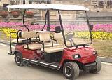 电动车多少公里六座低速电瓶车,别墅高尔夫电动车,