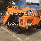 液压履带运输车厂家定制橡胶履带式拖拉机;