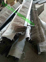 烧结环冷机密封钢刷 钢丝条刷