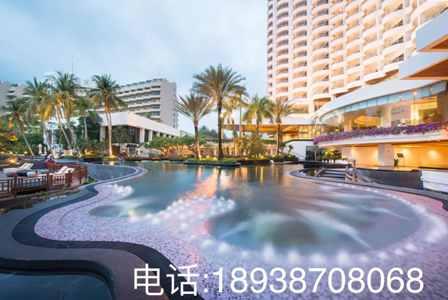 别墅度假酒店泳池设计方案
