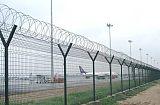 廊坊卖球场护栏,铁路机场监狱护栏,荷兰网,防抛网,石笼网;