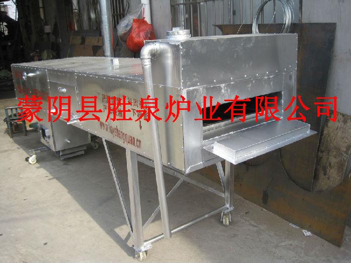 供应隧道式导热油烤箱