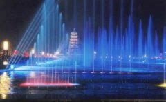 广场音乐喷泉工程