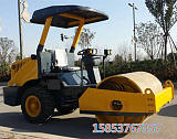 6噸膠輪震動壓路機 公路回填土壓土機 駕駛型軋道機