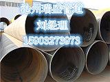 立柱用大口徑螺旋鋼管