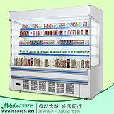 广东茉莉珂冷柜MLF-20002米内机A款风幕柜冰柜价格;