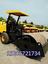 6噸座駕壓路機 寬鋼輪壓土機精良設備