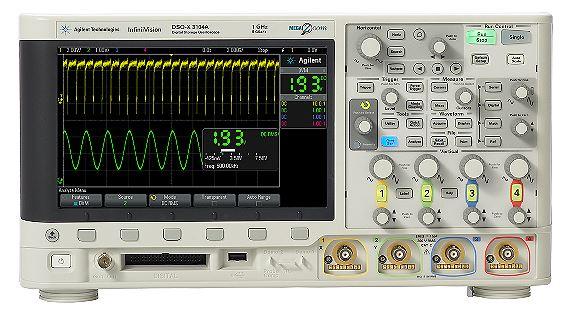 东莞市高价回收Agilent MSOX3012A 100M数字存储示波器