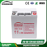 乐珀尔蓄电池12V24AH;
