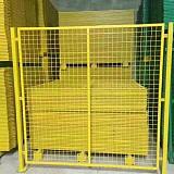 1.5米高1.8米高2.0米高黄色草绿色车间隔离栅护栏现货批发
