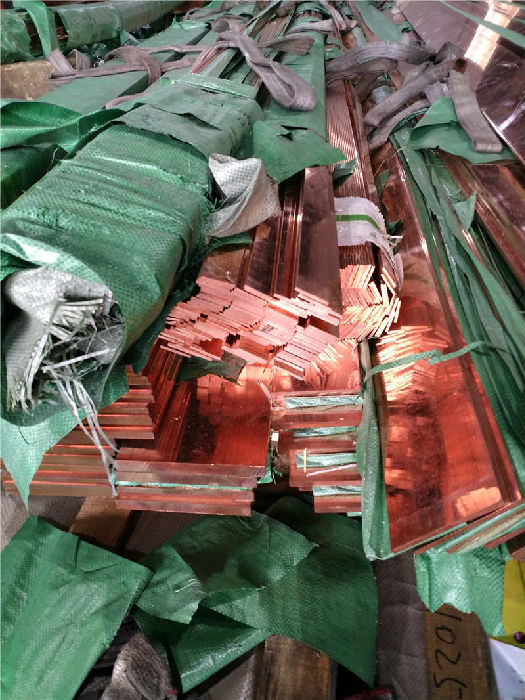 厂家直销T2紫铜排 接地铜扁排 紫铜条各种规格齐全