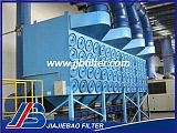 ES-C-2-4組合式濾筒除塵器;