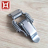 DK011不锈钢搭扣重型工业锁扣 双弹簧卡扣工具箱拉扣电箱卡扣米思MI;