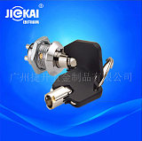 JK009环保开关 深圳电子锁 厂家 钥匙开关 电源锁 捷开锁具 RoHS;