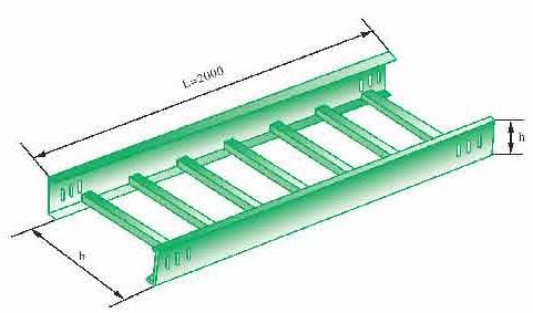 江苏桥架 找求锐电器 梯式桥架 厂家发货