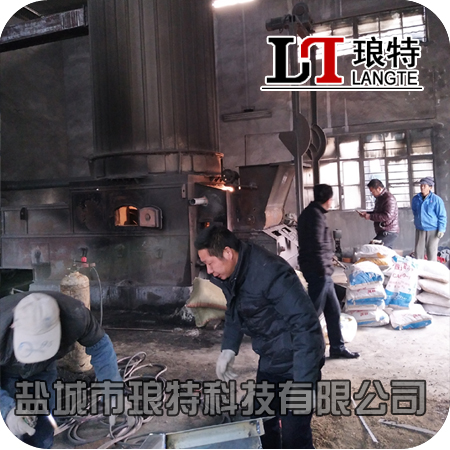 连云港赣榆4吨燃煤锅炉改造生物质运行稳定
