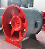 选择人防车库/地下停车场专用立式消防高温排烟风机/认准德州亚太品牌;
