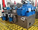 鼎斯液压供应热压机专用插装阀集成系统