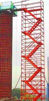 衡水市阜城供应建筑机械75型安全爬梯